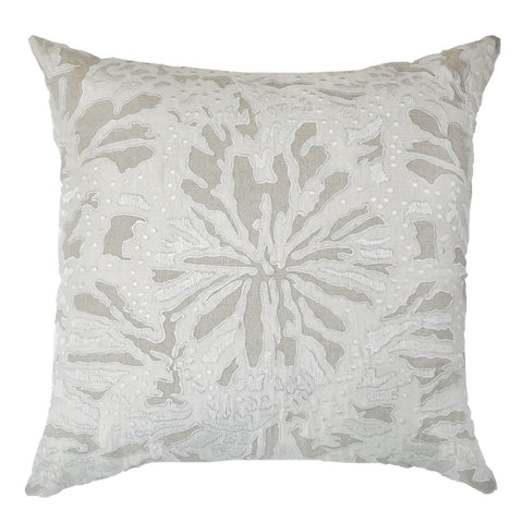 Butterfly Natural Cushion