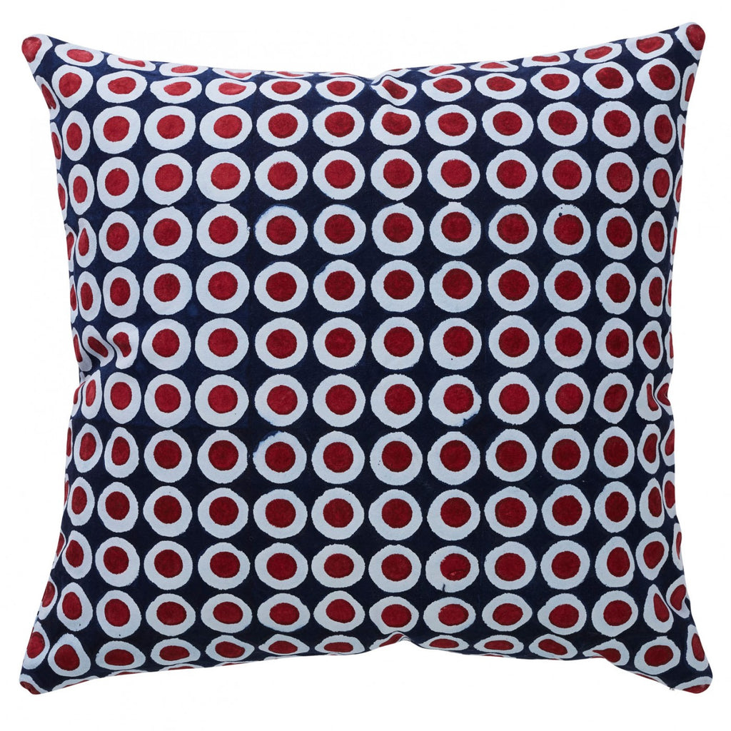 Montenegro Porter Indoor/Outdoor Cushion Raspberry