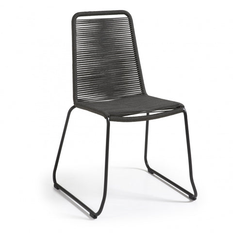 Meagan Dining Chair Dark Charcoal