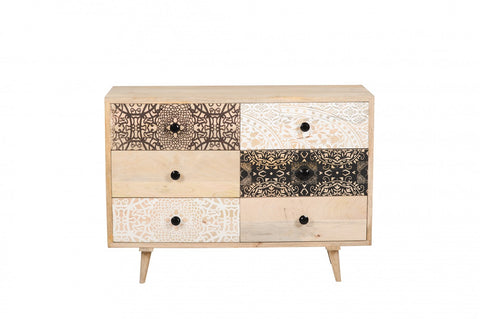 Nomad 6 Drawer Chest Natural