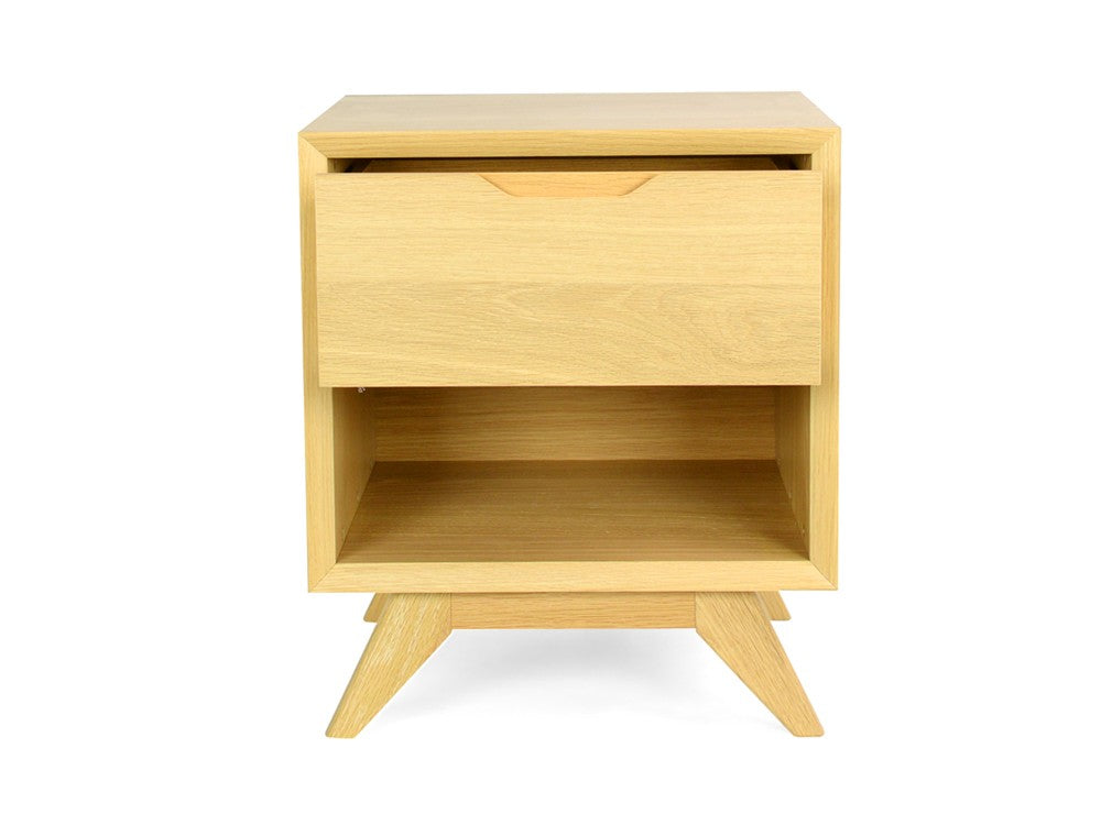 Aldo 1 Drawer Bedside Table