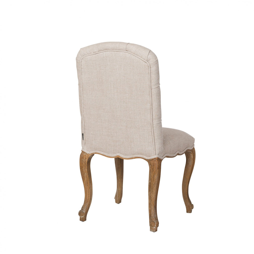 Louis XV Dining Chair French Linen
