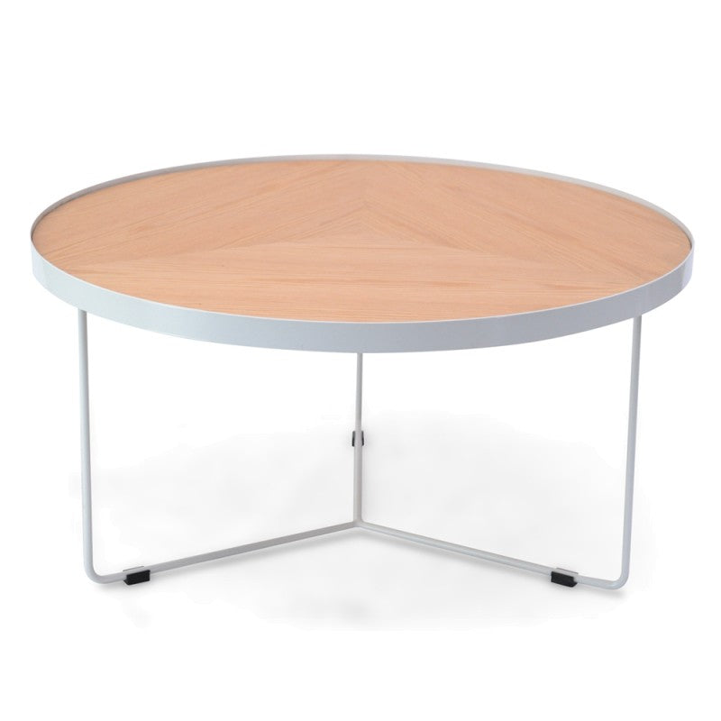 Holm Coffee Table Large White/Natural