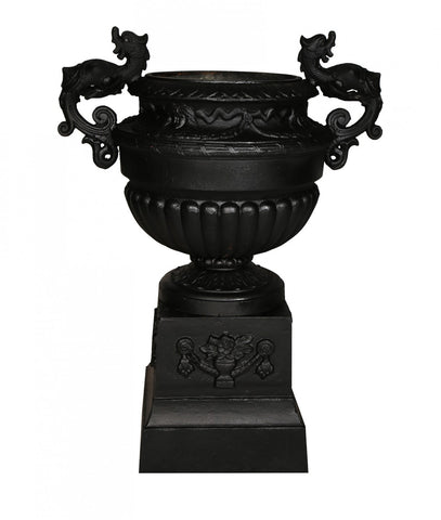 Tuscan Urn and Base Set