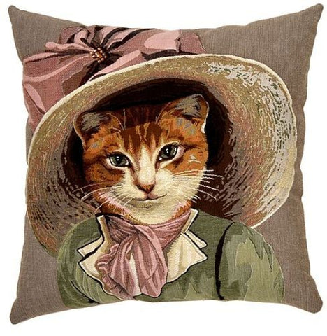 Cats in Hats Cushion Bonnie