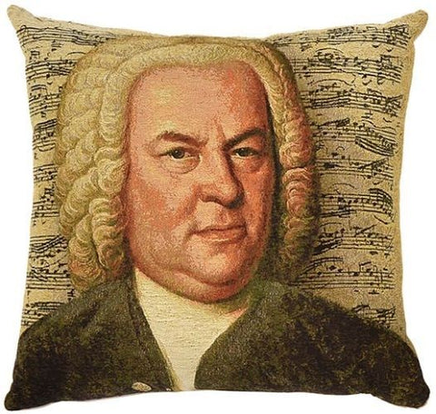 Classical Composers Cushion Bach