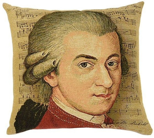 Classical Composers Cushion Mozart