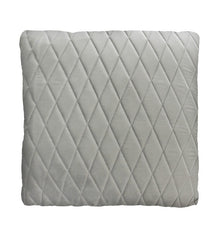 Pebble Grey Coco Velvet Cushion
