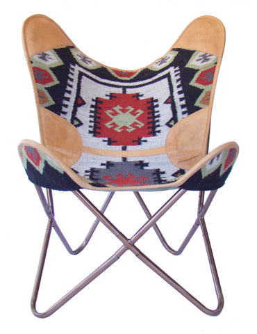 Butterfly Chair Kilim LP & Leather