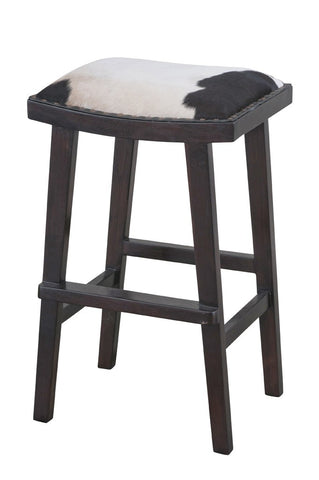 Lyon Stool Black and White