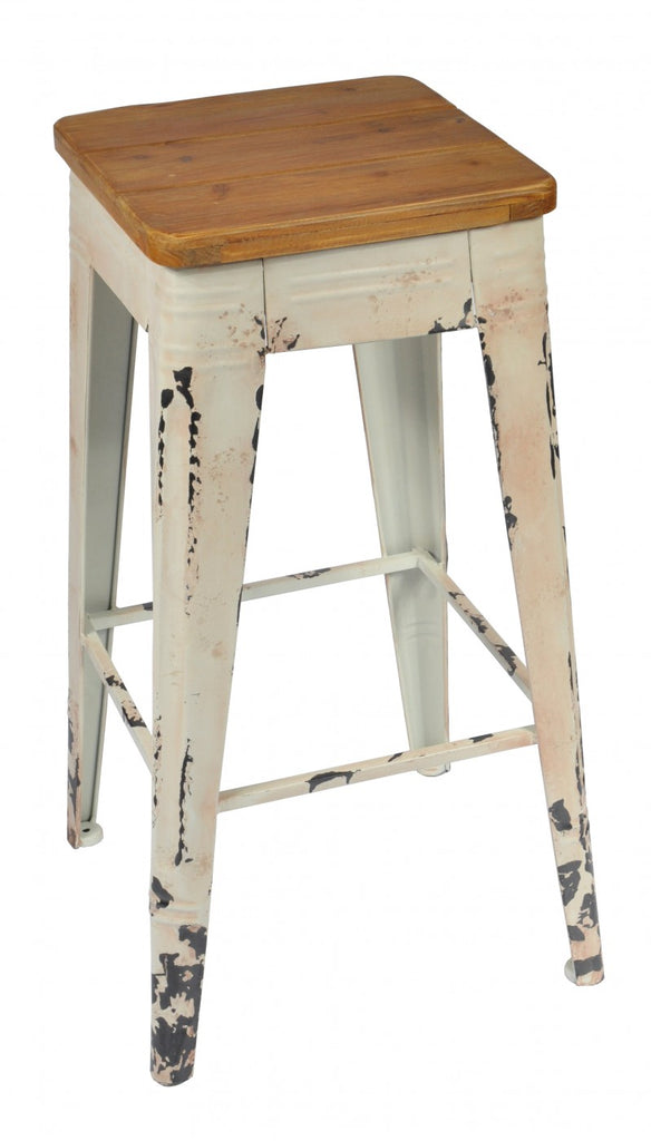 Substation Bar Stool White