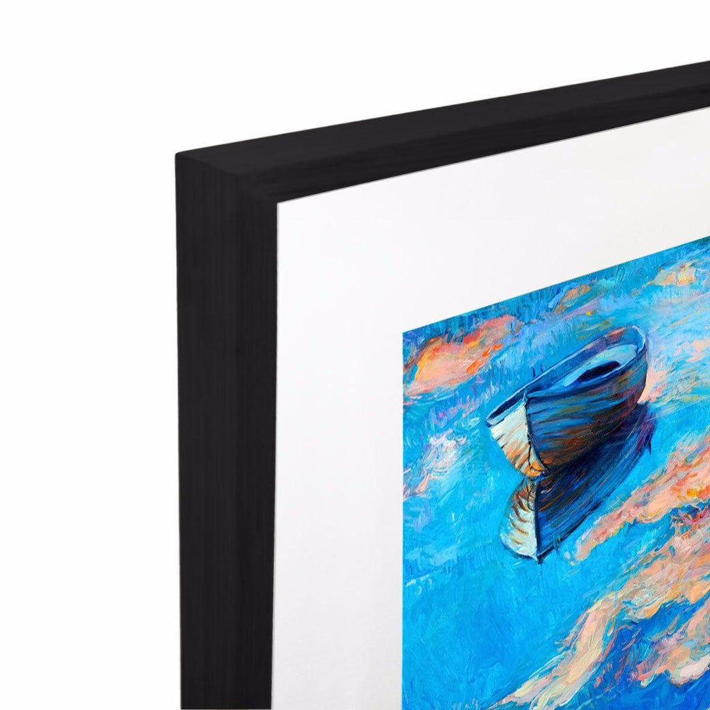 Ionian Surprise Acrylic Print with Frame