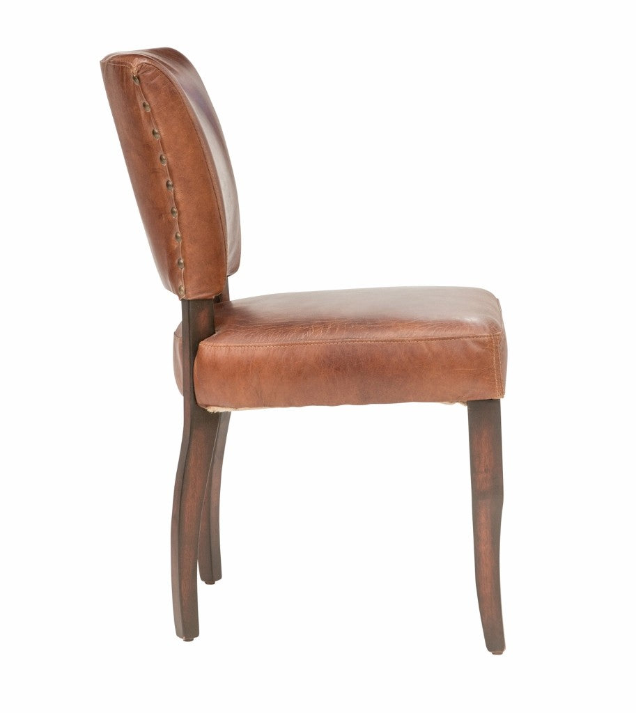 Vintage Leather Darren Dining Chair