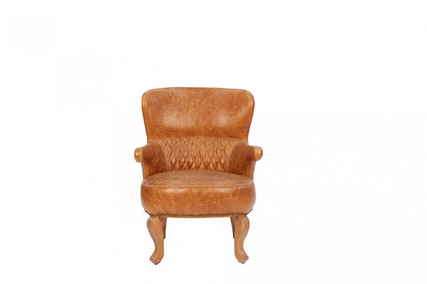 Horn Leather Chair