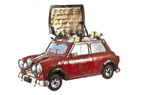 Limited Edition Italian Job Mini Cooper Cooler Red