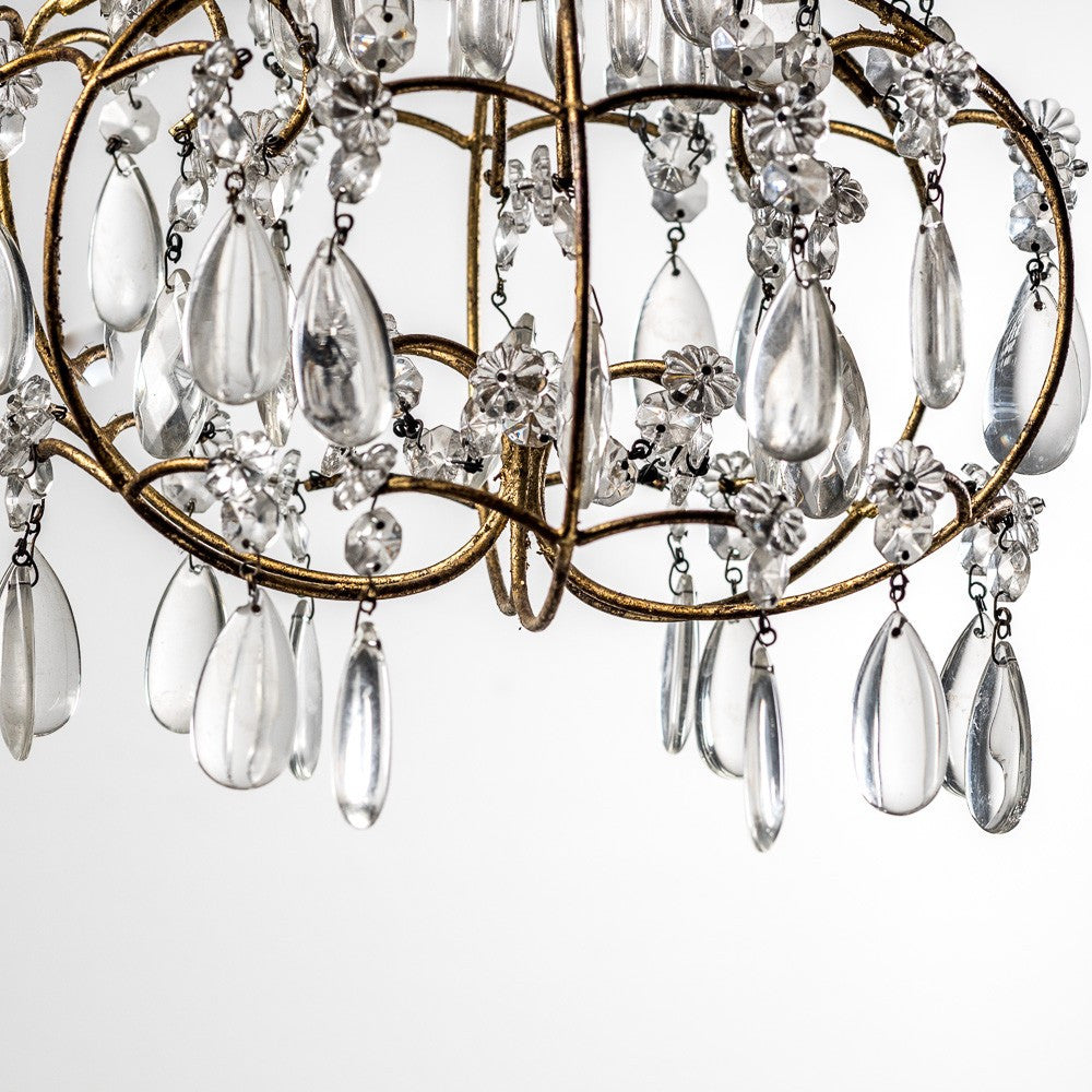 Milford Gold Chandelier