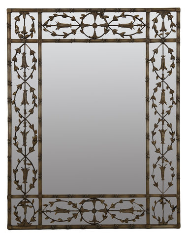 Rustic Gold Decorative Mirror