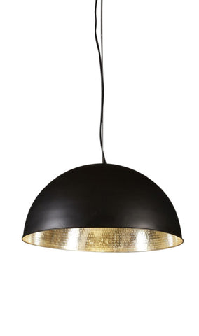 Alfresco Dome Pendant Black/Silver