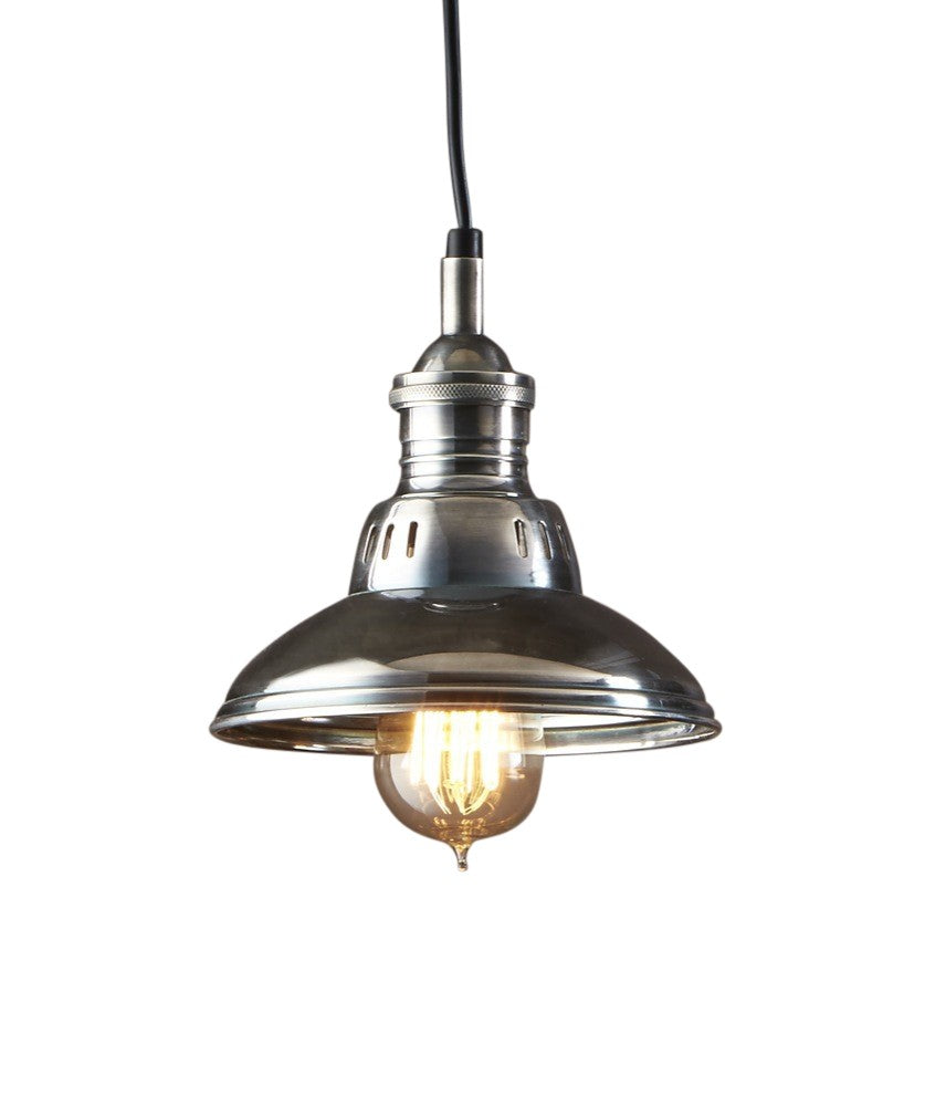Metro Hanging Lamp Antique Silver