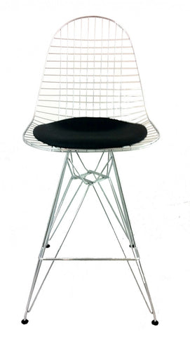 Replica Eames Wire Counter Stool