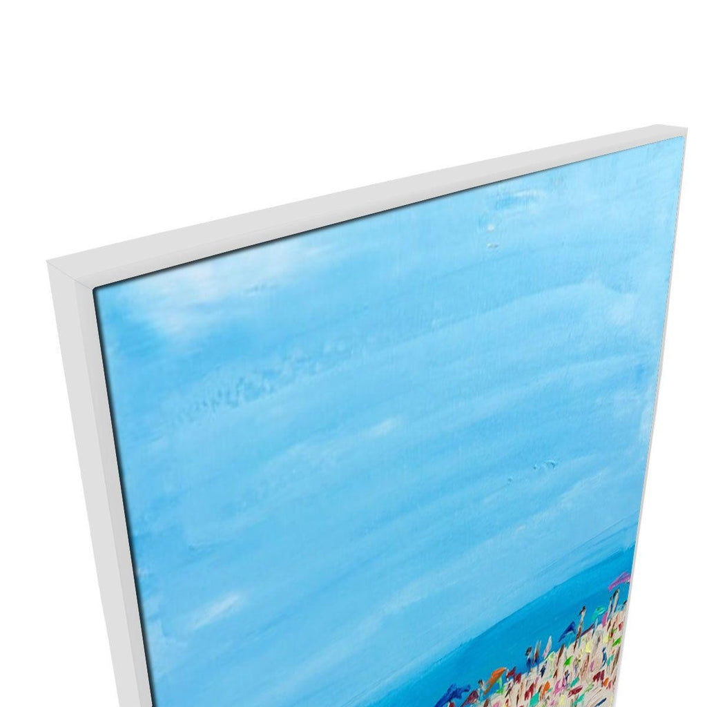 Cote D Azur 2 Canvas Painting with Floating Frame
