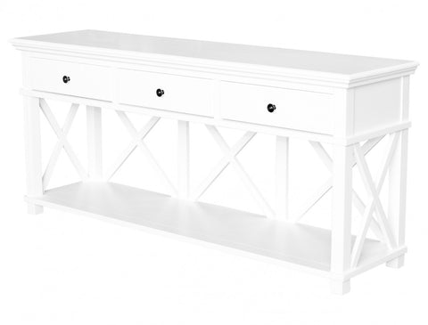 Sorrento Media Unit White