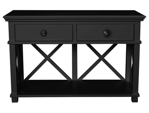 Sorrento Console/Desk Black
