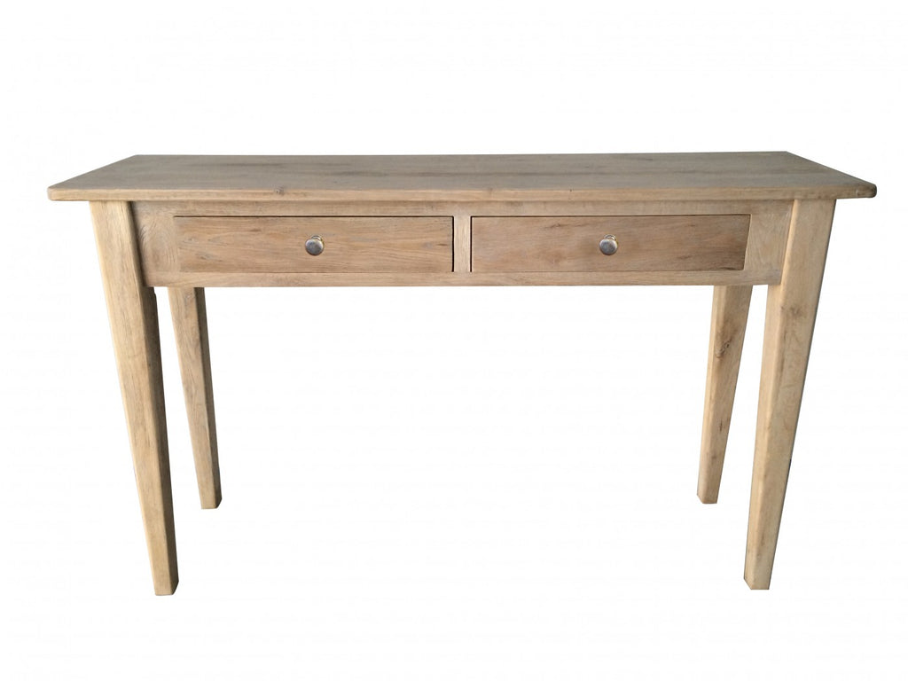 Flinders 2 Drawer Console Natural