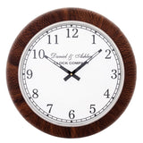 Leather Wall Clock Large