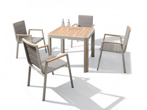 Geneva 5 Piece Dining Setting