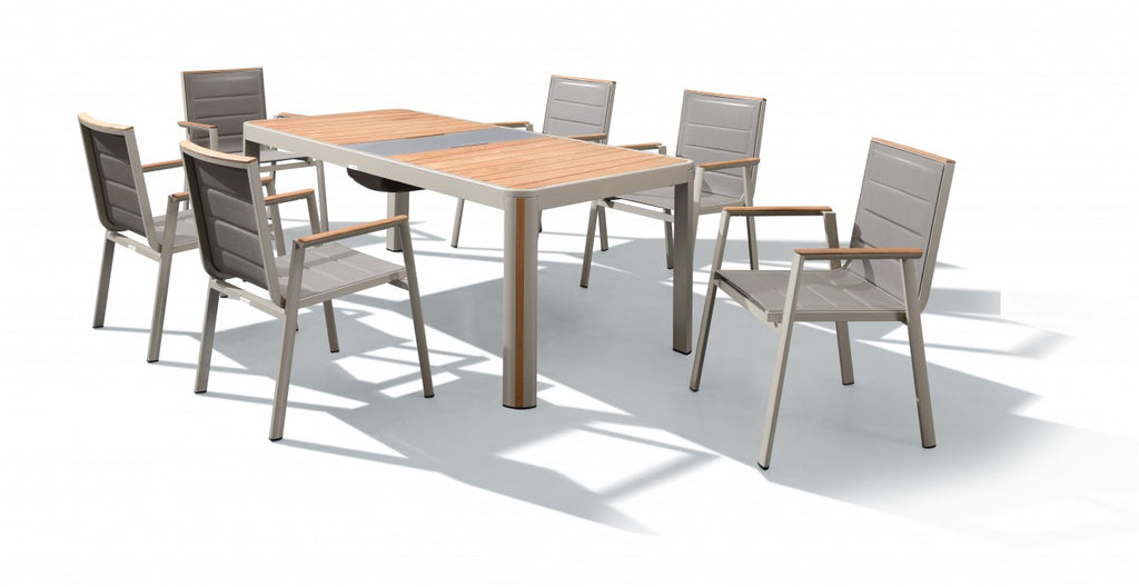 Geneva 7 Piece Dining Setting