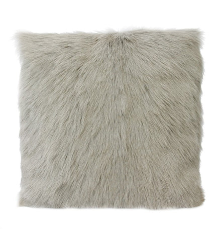 Blonde Goat Fur Cushion