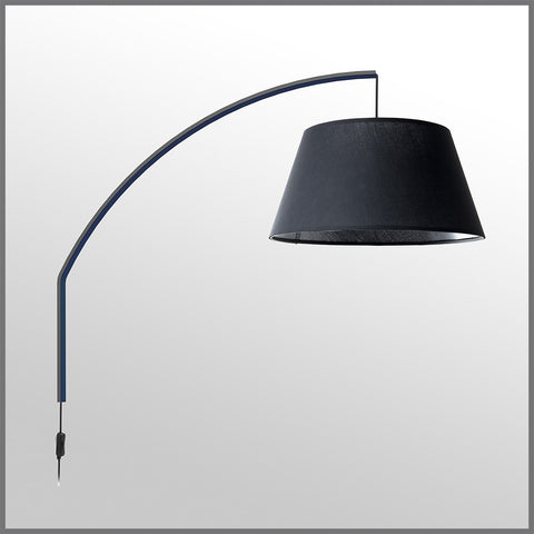 Arc Wall Mounted Lamp Black