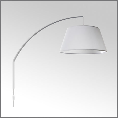 Arc Wall Mounted Lamp White