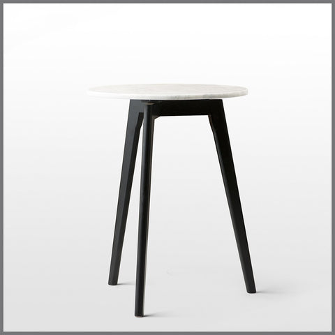 Tall Vesta Side Table Black