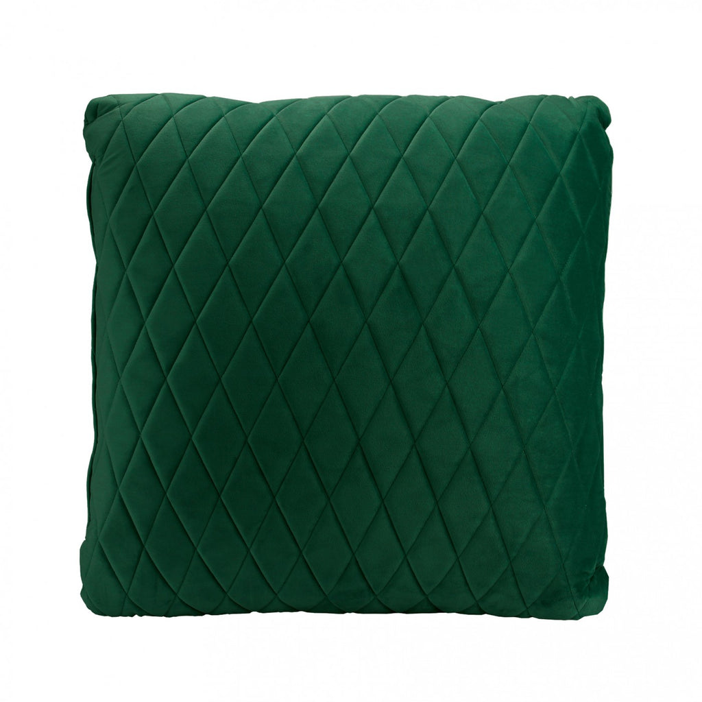 Ivy Green Coco Velvet Cushion
