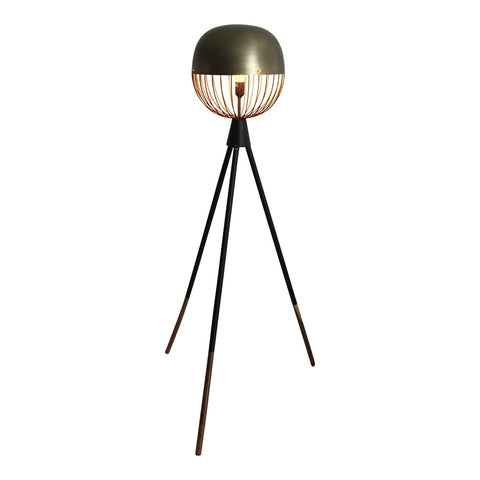 Durie Design Gold Sputnik Floor Lamp