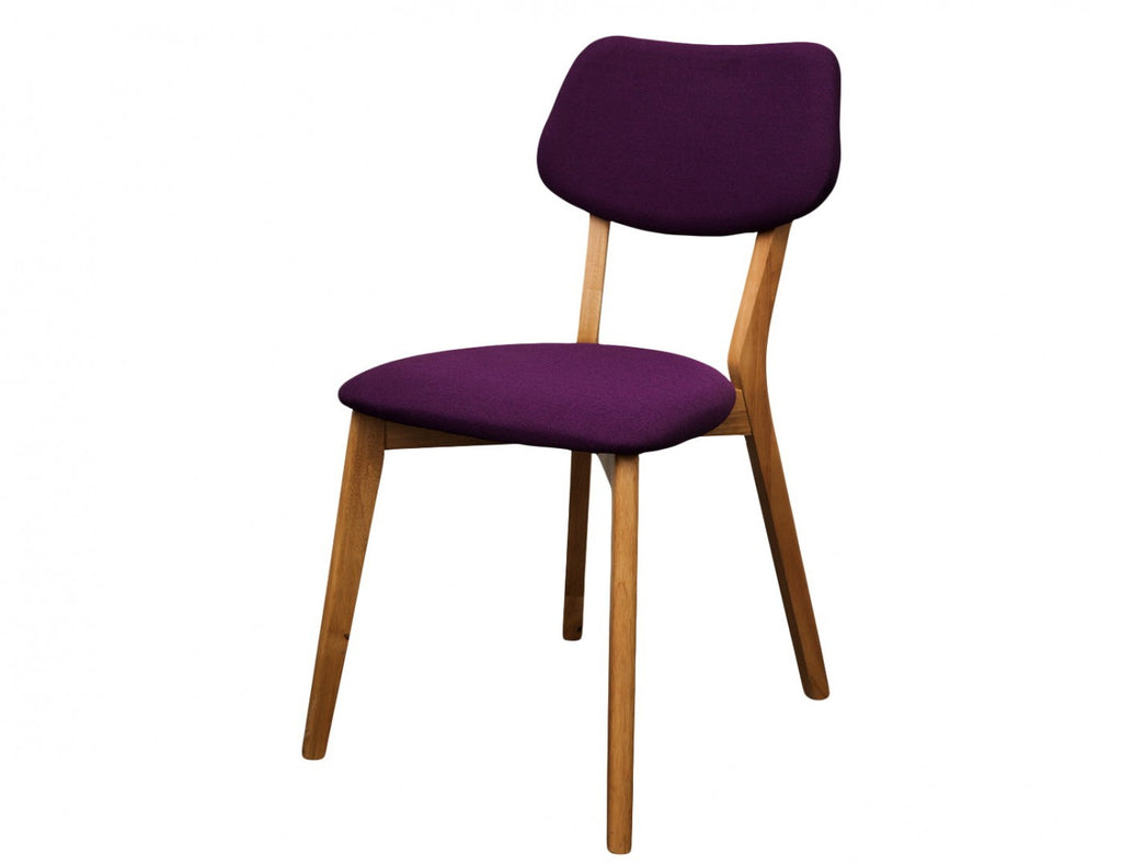 Jelly Bean Dining Chair Purple