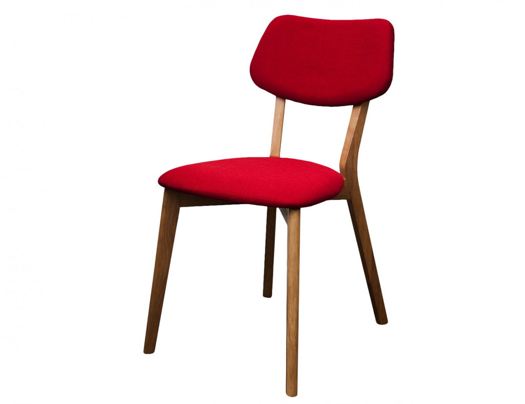 Jelly Bean Dining Chair Red