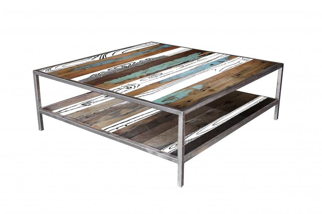 Spectrum Square Coffee Table White