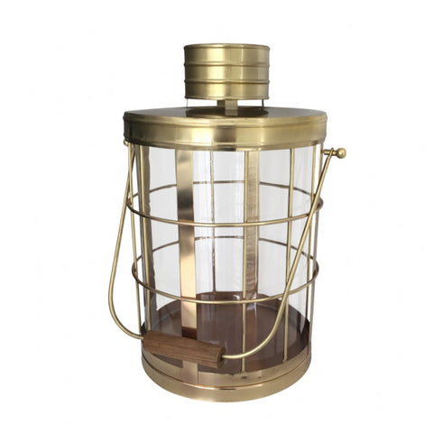 Colonial Lantern Antique Brass
