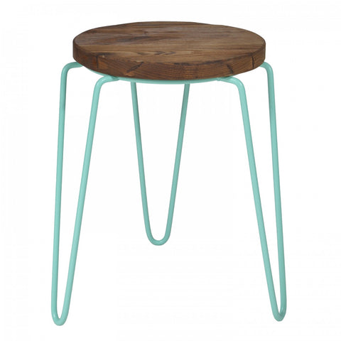 Tube Stool Mint Green