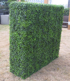 Light Box Wood Portable Artificial Outdoor Hedge