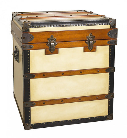 Polo Club End Table Trunk