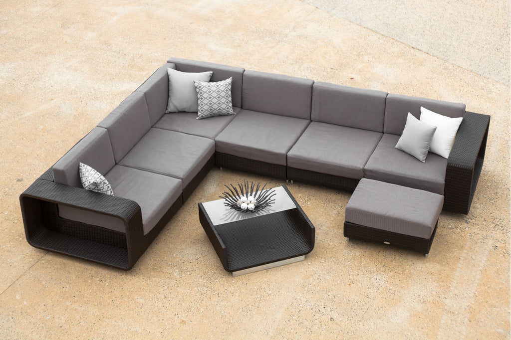 Tatoka Modular with Ottoman and Coffee Table