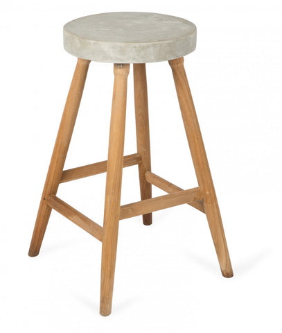 Apollo Concrete Bar Stool