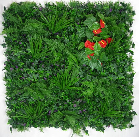 Mixed Jungle Artificial Vertical Outdoor Garden