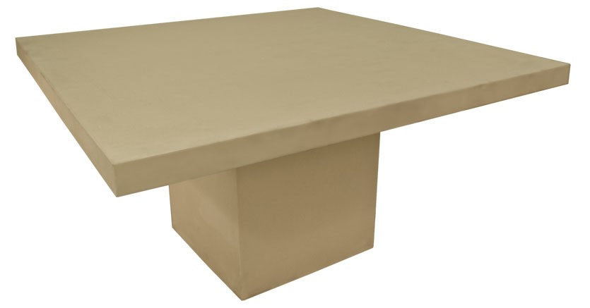 Moderno GRC Square Dining Table 150cm