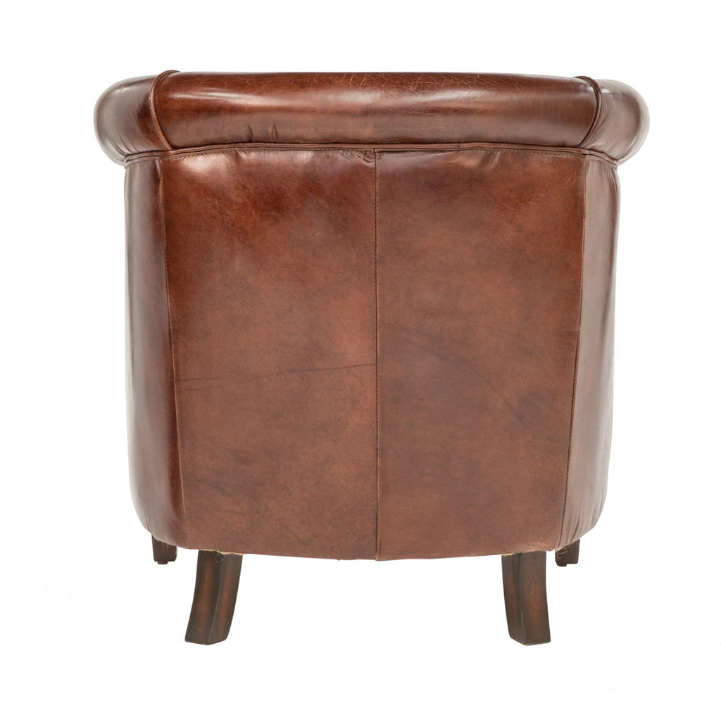 Vintage Leather Grande Tub Chair