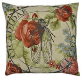 Nature Cushion Cicada